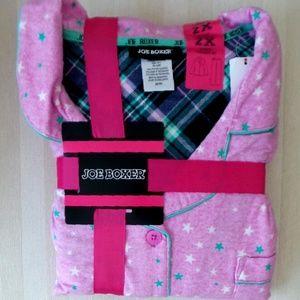 JOE BOXER Pajamas Women SIZE 2xl Flannel 2 PC
